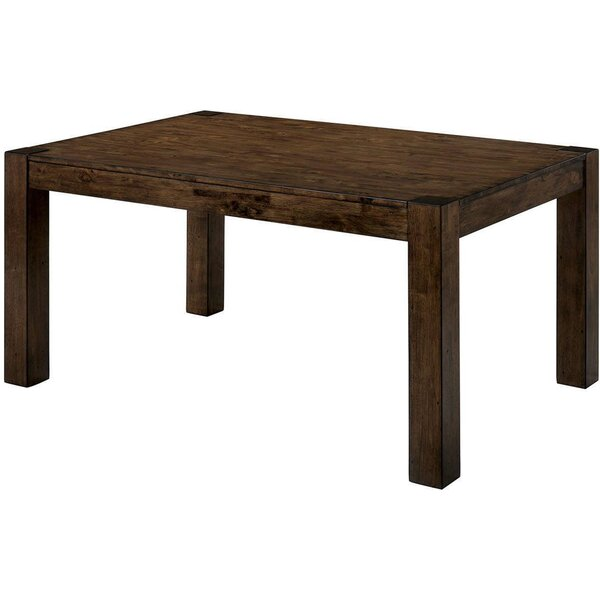 Floressa Walnut Solid Wood Dining Table By Union Rustic