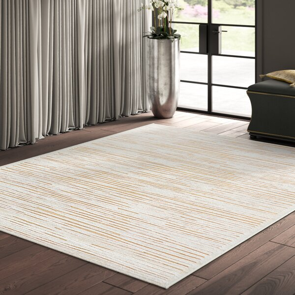 Forney Ivory/Taupe Area Rug by Greyleigh
