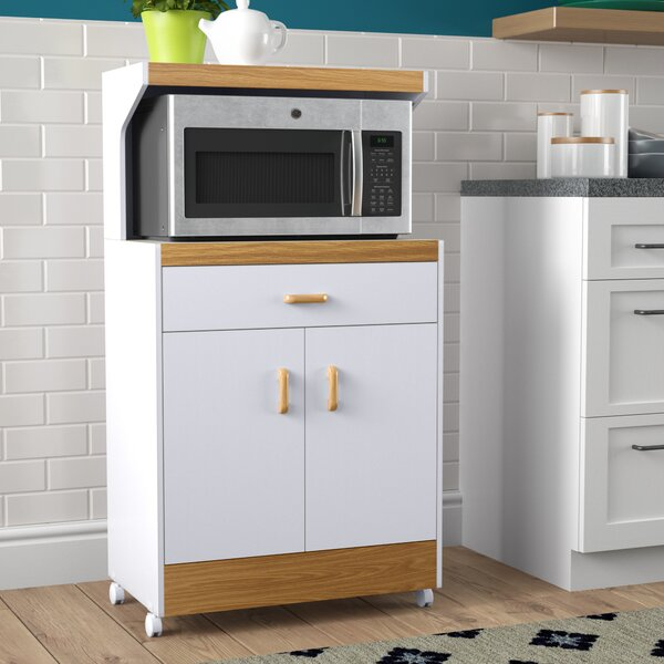 Kappel Microwave Cart by Ebern Designs