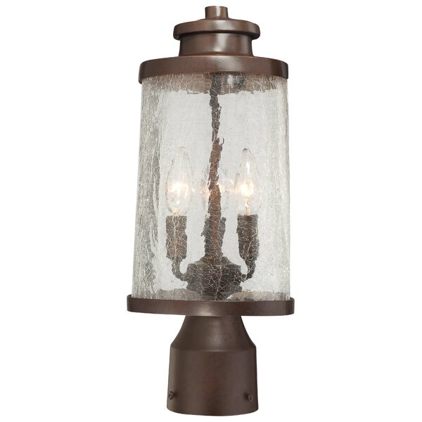 Traditional Outdoor 3-Light Oval Lantern Head by Latitude Run