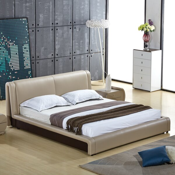 Bernadine Upholstered Platform Bed by Orren Ellis