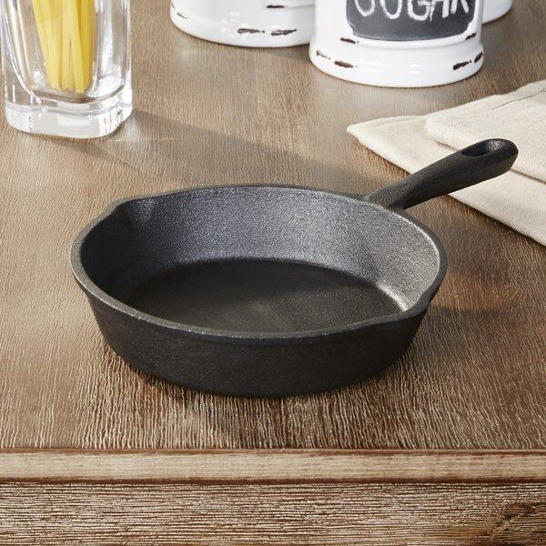 Wayfair Basics Cast Iron Nonstick Frying Pan by Wayfair Basics™
