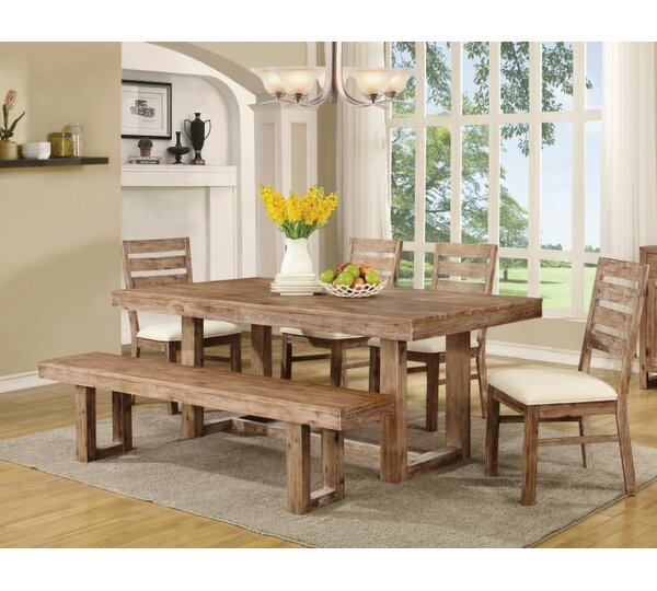 Nahoumi 6 Piece Dining Set by Gracie Oaks