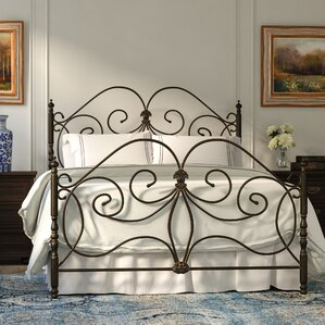 Kathy Open-Frame Headboard and Footboa..
