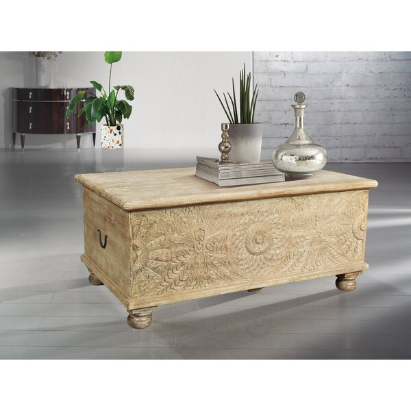 Buena Park Coffee Table with Storage by Bungalow Rose