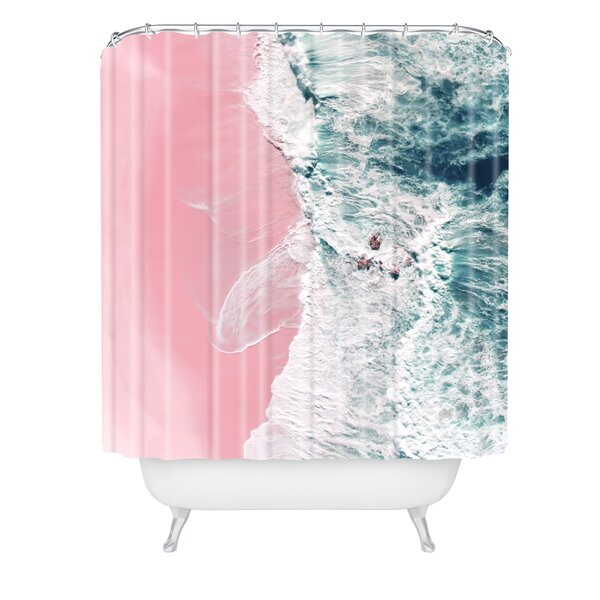Ingrid Beddoes Sea Love Shower Curtain by East Urban Home