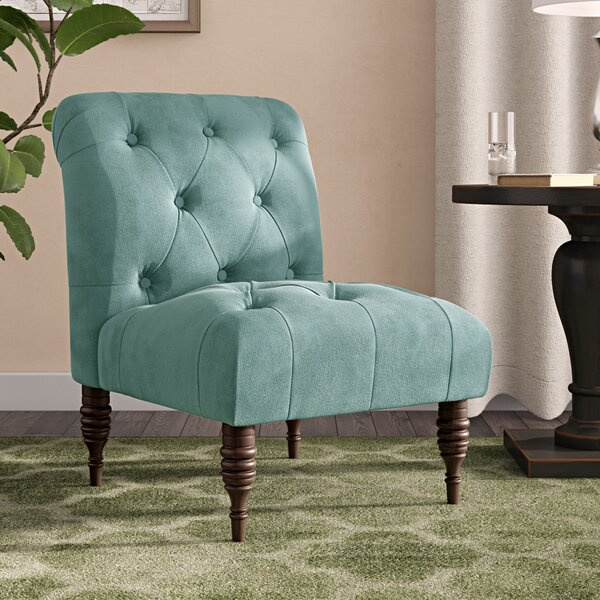 Monteleone Slipper Chair by Alcott Hill Alcott Hill