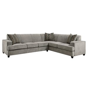Caswell Sleeper Sectional  sc 1 st  AllModern : velvet sofa sectional - Sectionals, Sofas & Couches