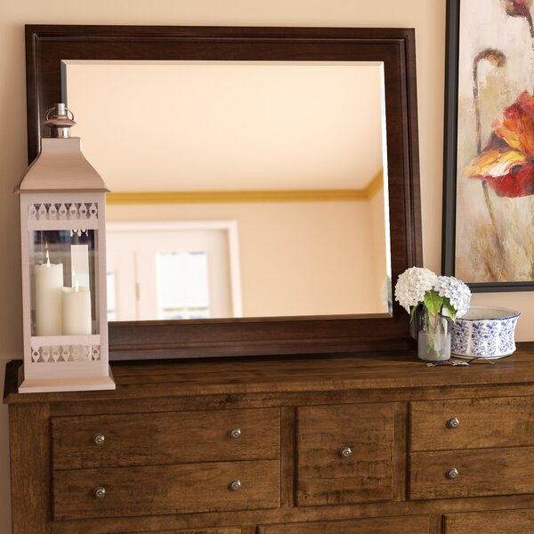 Garrick Rectangular Dresser Mirror by Darby Home Co