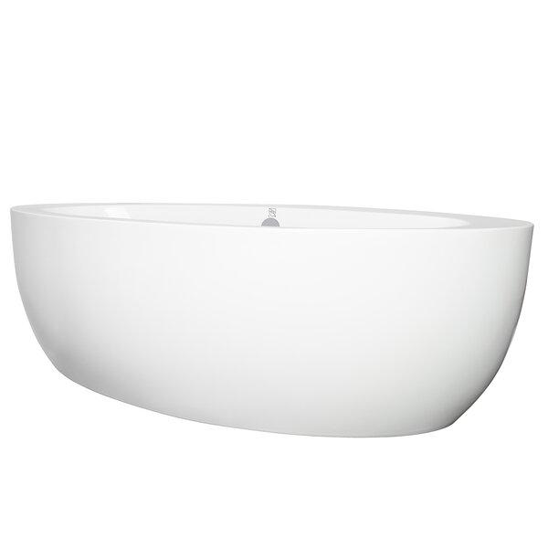 73 x 36 Freestanding Soaking Bathtub by AKDY