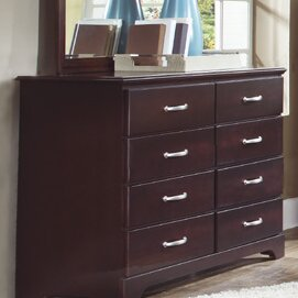 Aitana Tall 8 Drawer Standard Dresser/Chest by Red Barrel Studio