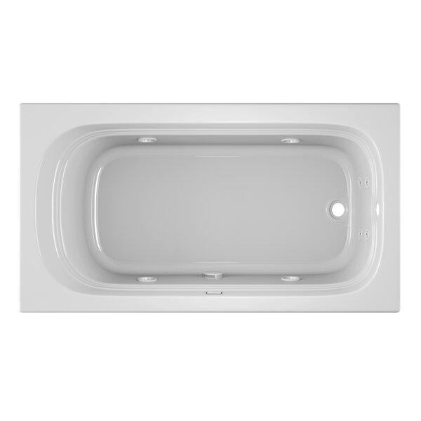 Luxura 66 x 34 Drop In Whirlpool Bathtub by Jacuzzi®