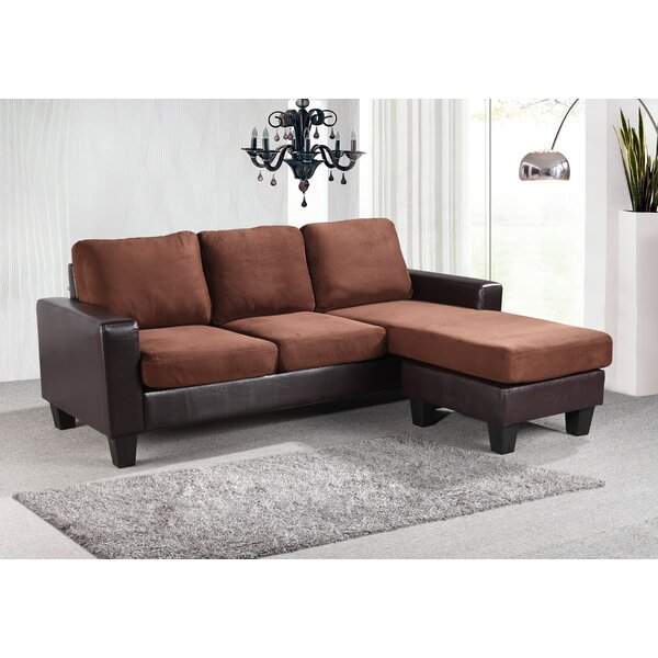 Bratton Reversible Sectional by Charlton Home Charlton Home