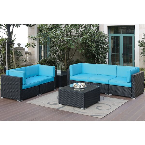 Gallego 6 Piece Sofa Seating Group With Cushions By Highland Dunes