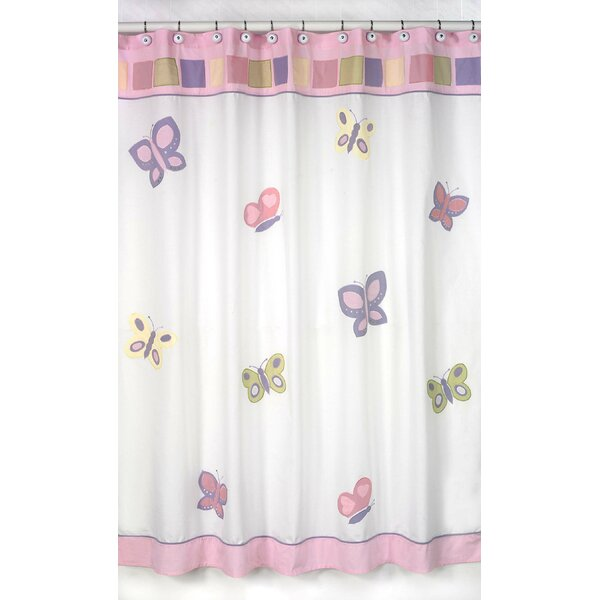 Butterfly Shower Curtain by Sweet Jojo Designs