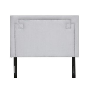 Raffaela King Upholstered Panel Headboard by Everly Quinn