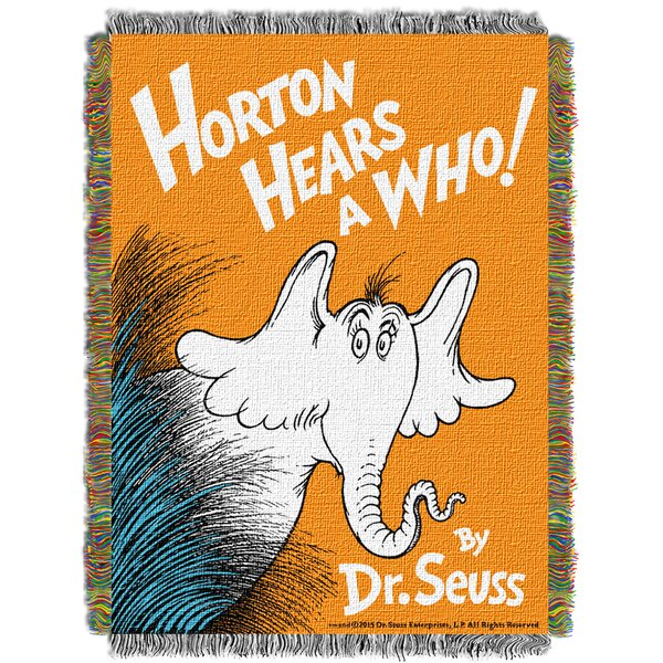 Dr. Seuss Horton Hears A Who Throw by Northwest Co.
