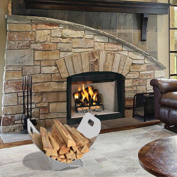 Stainless Steel Firewood Log Rack By Onlyfire