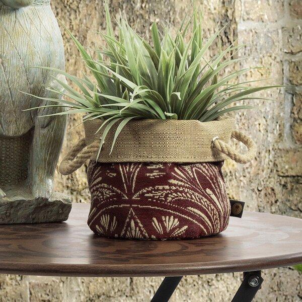 Zanzibar Fabric Pot Planter by Bombay Outdoors