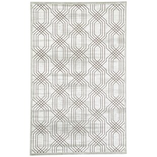 Best Choices Marsielle Power-Loomed White Area Rug By Wrought Studio