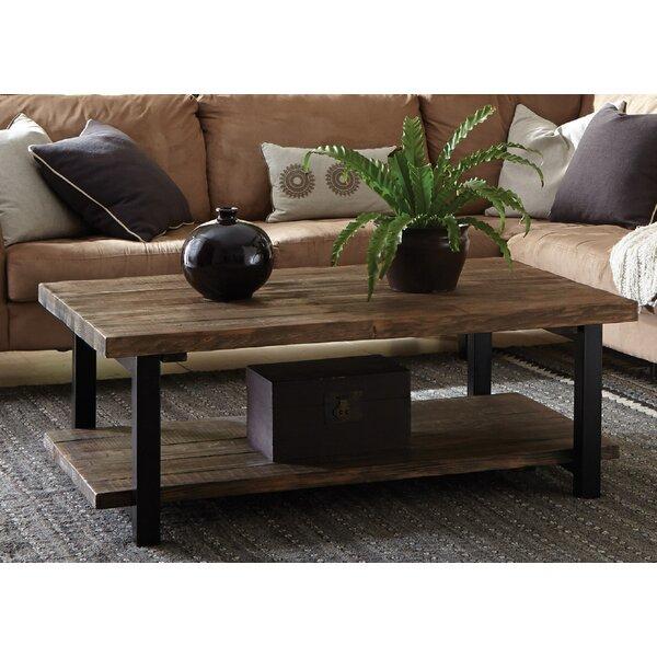 Veropeso 42 Wood/Metal Coffee Table by Mistana