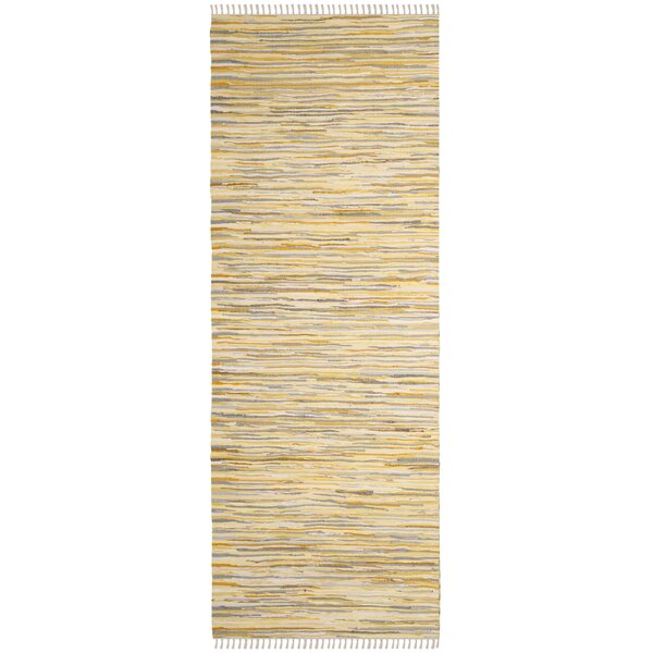Jaylon Hand-Woven Area Rug by Bungalow Rose