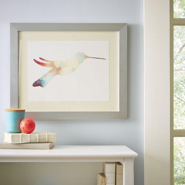 Watercolor Hummingbird Framed Print I by Birch Lane Kids™