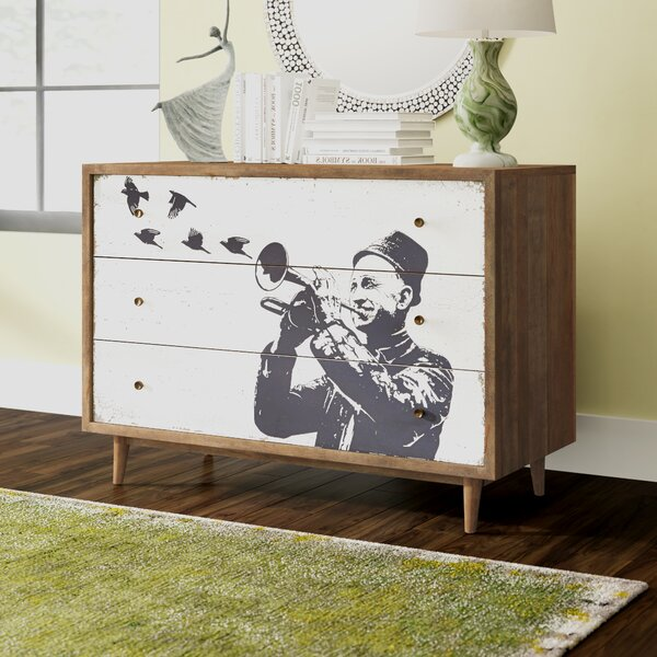 Dailey 3 Drawer Dresser by Brayden Studio