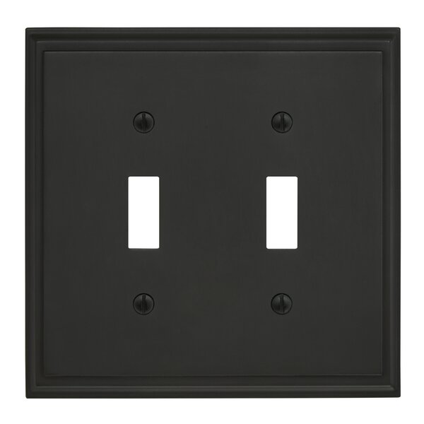Mulholland Toggle Wallplate by Amerock