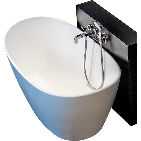 PureScape 61 x 34.75 Soaking Bathtub by Aquatica