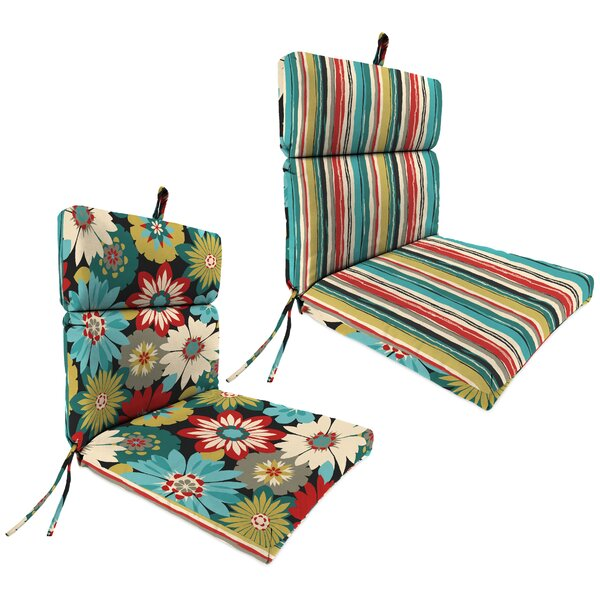 Indoor/Outdoor Dining Chair Pad Cushion by Andover Mills