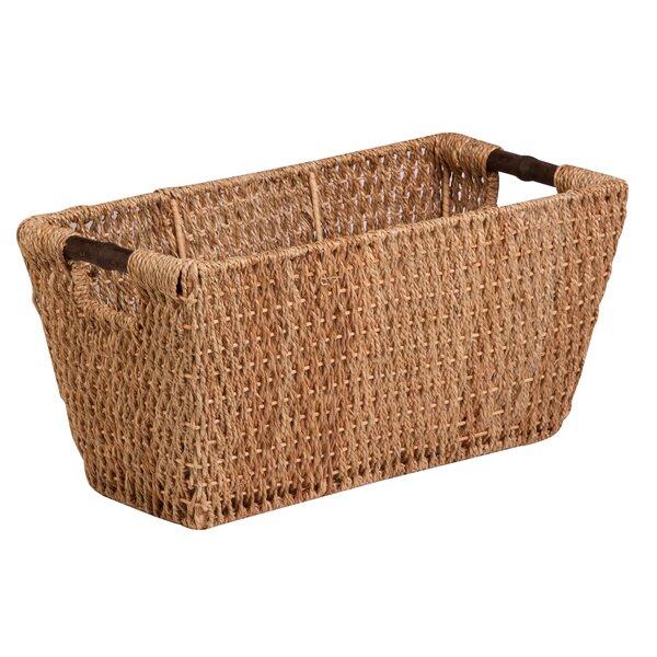 Brand new Seagrass Lidded Baskets   Wayfair DG73