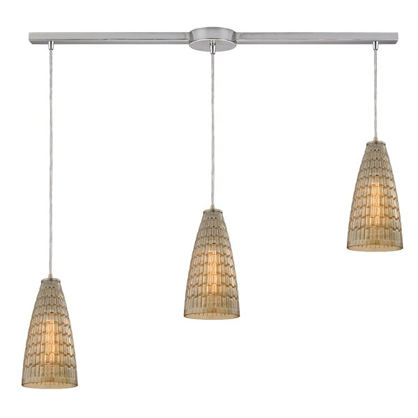 Saba 3-Light Cluster Pendant by Bay Isle Home