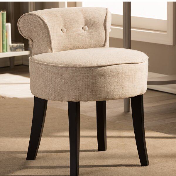 Kearney Accent Stool by Alcott Hill