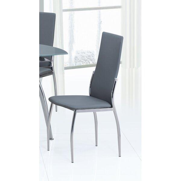 Luna Upholstered Dining Chair (Set of 4) by Orren Ellis Orren Ellis