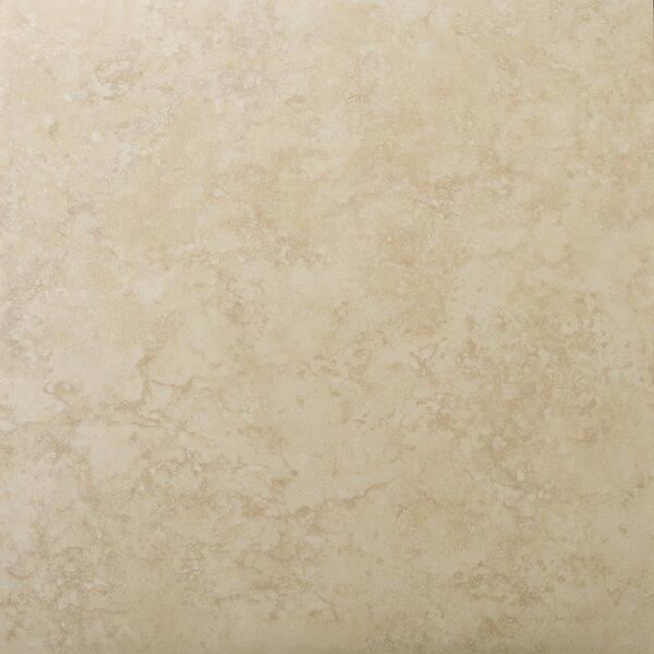 Odyssey 13 x 13 Ceramic Field Tile in Beige by Emser Tile