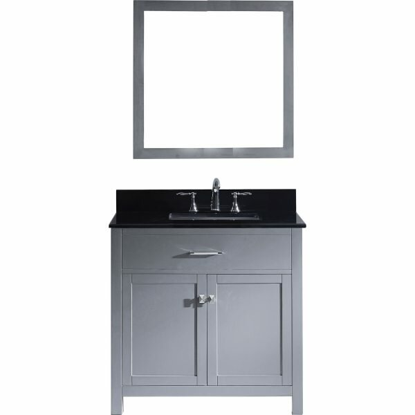 Kenilworth 36 Single Bathroom Vanity Set with Mirror by Highland Dunes