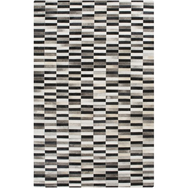 Camilla Black Area Rug by Ivy Bronx