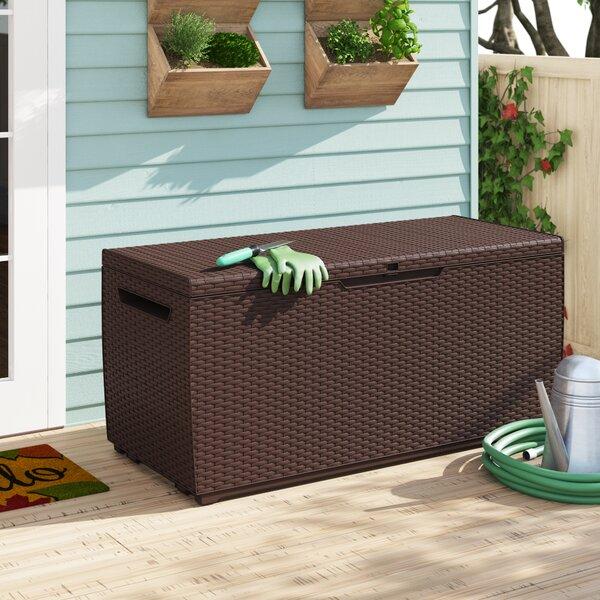 Capri 80 Gallon Resin Deck Box By Keter