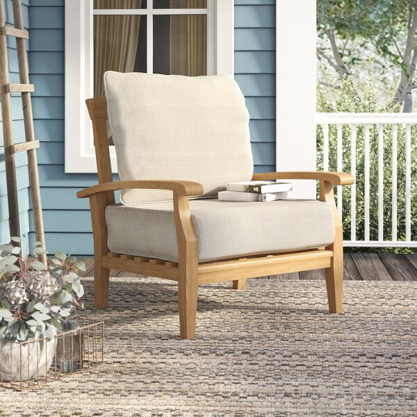 Summerton Teak Patio Chair With Cushions By Birch Lane™ Heritage