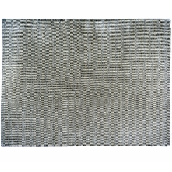 One-of-a-Kind Meadow Hand-Knotted Gray 9' x 12' Wool Area Rug