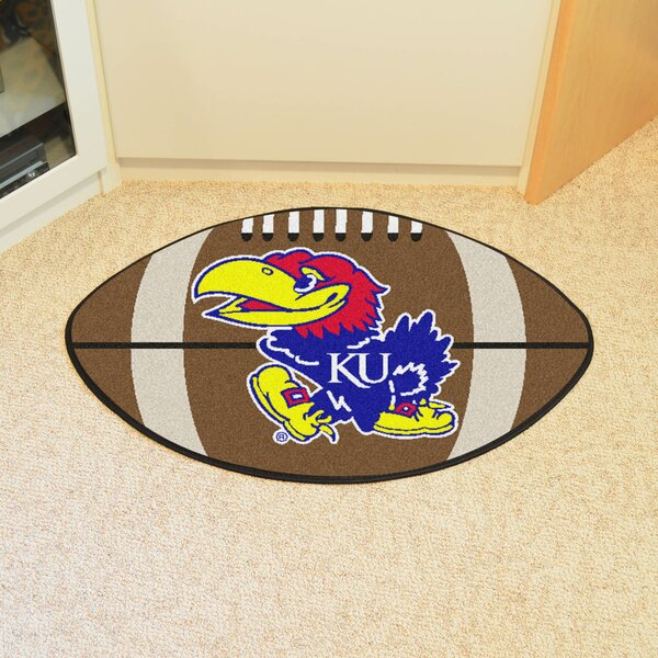 NCAA University of Kansas Football Doormat by FANMATS