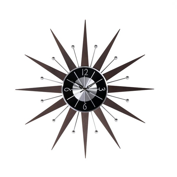 Starburst Wall Clock by Stilnovo