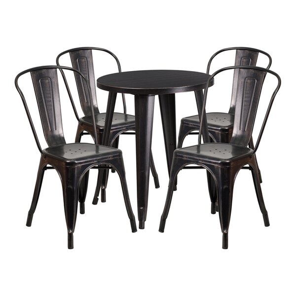 Esme 3 Piece Bar Height Dining Set by Williston Forge