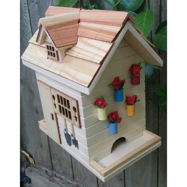 Potting Shed Decorative Hopper Bird Feeder by Home Bazaar