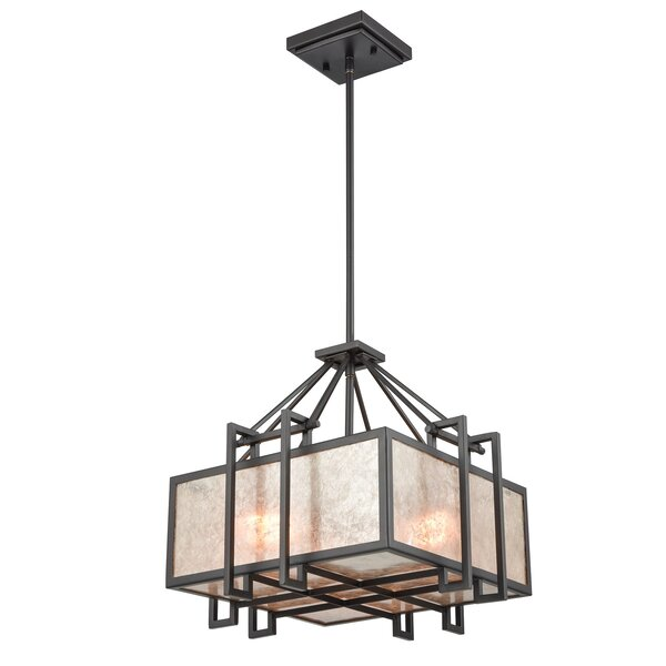 Buhl 3 - Light Lantern Square / Rectangle Chandelier By Williston Forge