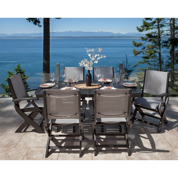 Coastal 7-Piece Dining Set by POLYWOOD®