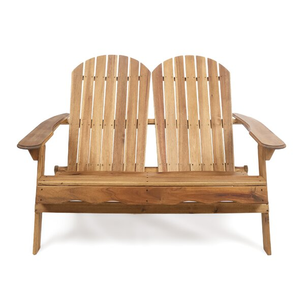 Stamm Adirondack Bench by Millwood Pines