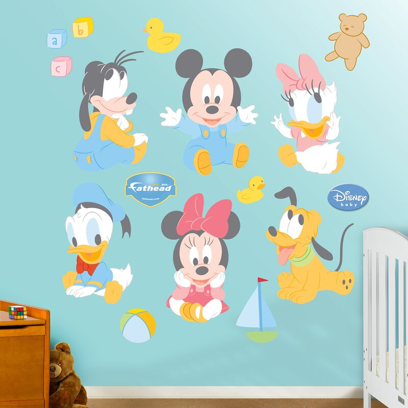 Disney Baby Mickey Mouse Wall Decal