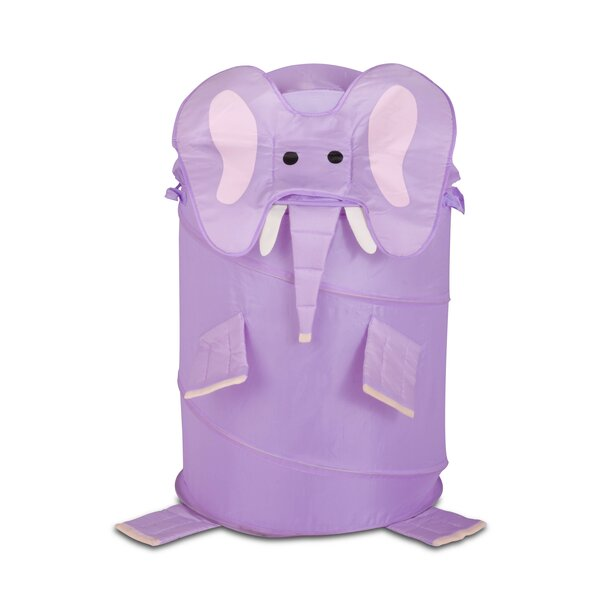 Large Kids Elephant Pop Up Hamper by Honey Can Do